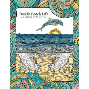 EarthHero - Beach Life Adult Coloring Book 1