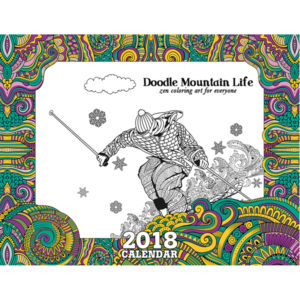EarthHero - Mountain Life Coloring Calendar 1