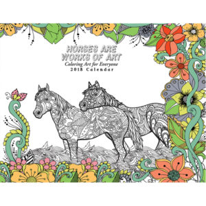 EarthHero - Horse Lovers Coloring Calendar 1