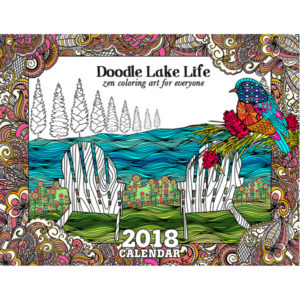 EarthHero - Lakeside Living Coloring Calendar 1