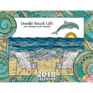 EarthHero - Beach Life Coloring Calendar 1