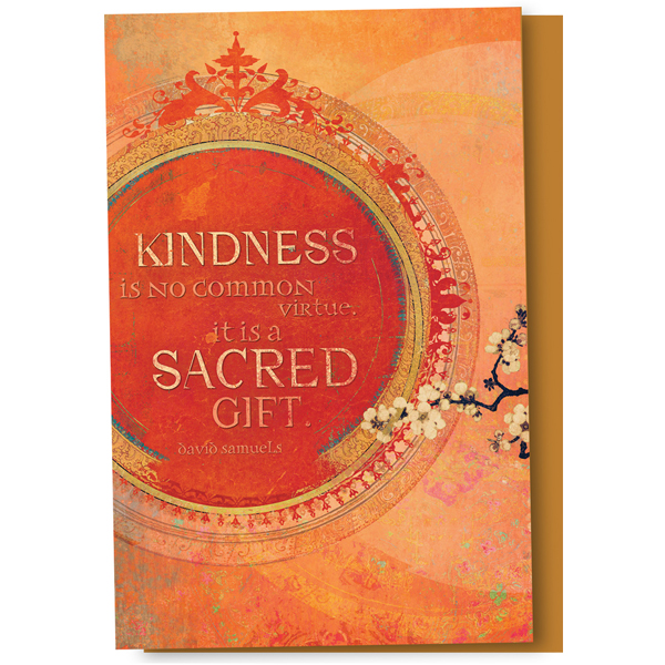 "EarthHero - ""Kindness Is A Sacred Gift"" Thank You Cards 1"