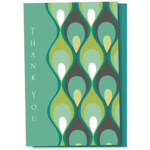 EarthHero - Groovy Feathers Thank You Cards 1