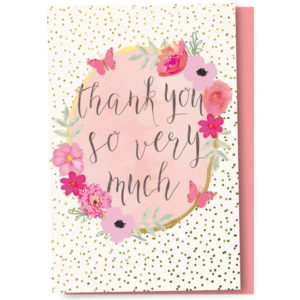 EarthHero - Flower Frame Thank You Cards 1