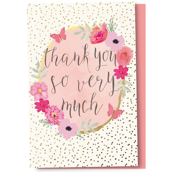 Flower frame thank you cards tree free shop eco friendly cards earthhero flower frame thank you cards 1 m4hsunfo