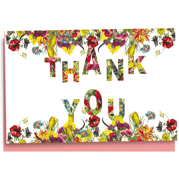 EarthHero - Everything's Coming Up Roses Thank You Cards 1