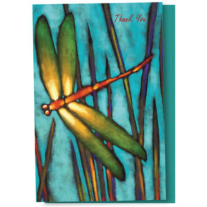 EarthHero - Dragonfly Thank You Cards 1