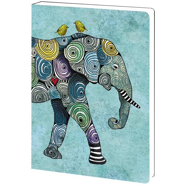 EarthHero - Elephant and Birds Eco Friendly Notebook 1