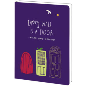 EarthHero - Every Wall Is A Door Eco Friendly Notebook 1