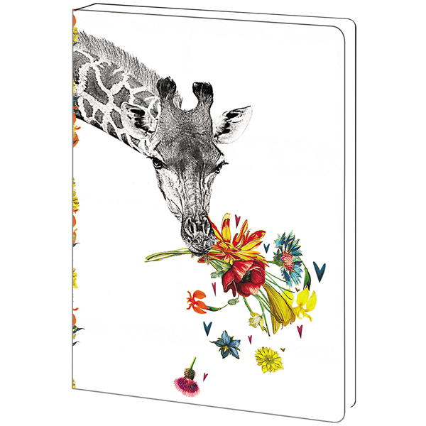 EarthHero - Checking In Giraffe Eco Friendly Notebook 1