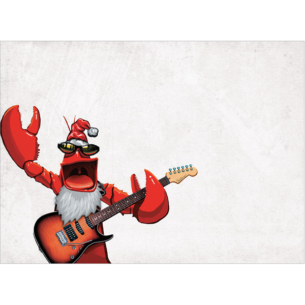 EarthHero - Rockin' Lobster Christmas Cards(10 Pk) 1