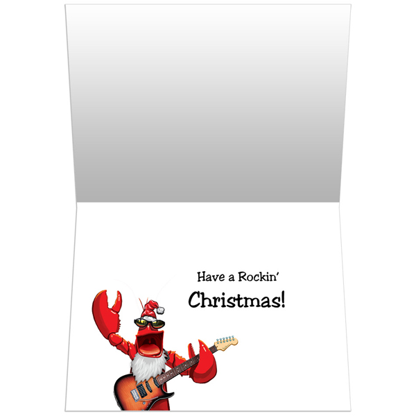 EarthHero - Rockin' Lobster Christmas Cards(10 Pk) 2