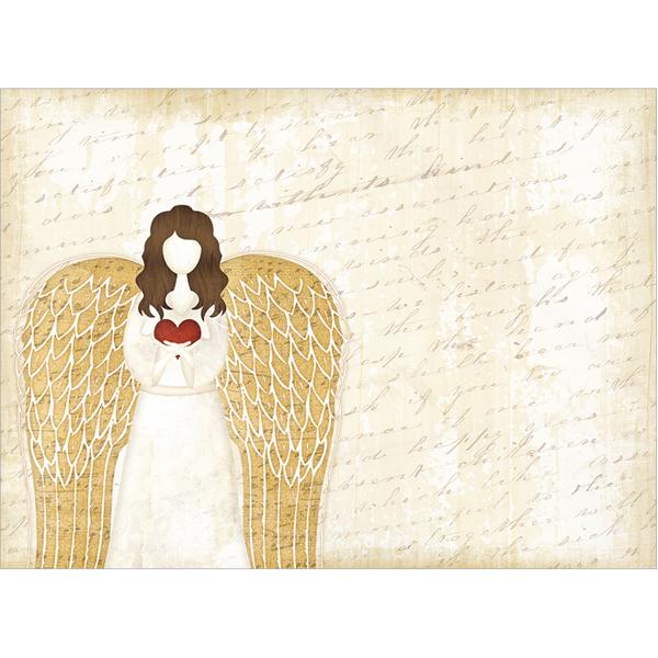 EarthHero - Christmas Angel Christmas Cards (10 Pk) 3