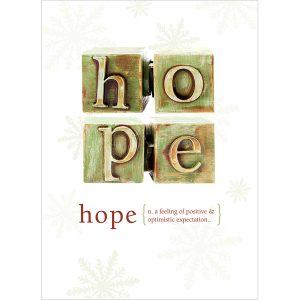 EarthHero - Hope Holiday Greeting Cards (10 Pk) 1