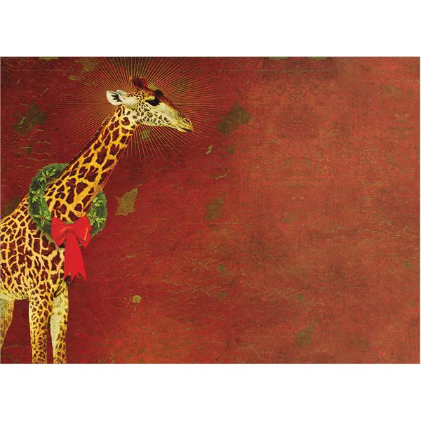EarthHero - Festive Giraffe Christmas Cards (10 Pk) 3