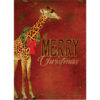 EarthHero - Festive Giraffe Christmas Cards (10 Pk) 1