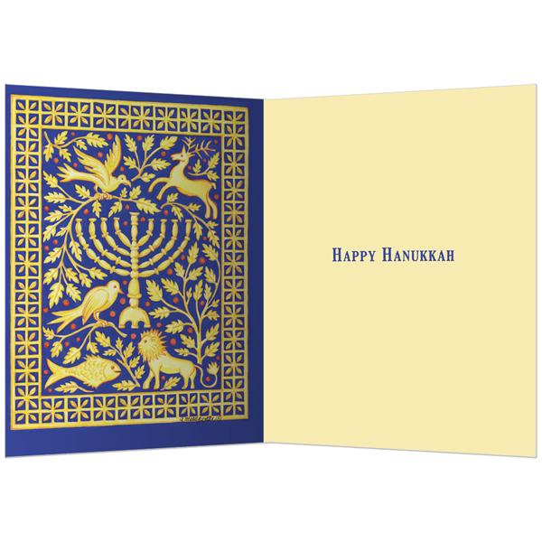 EarthHero - Classic Menorah Hanukkah Cards (10 Pk) 2