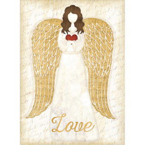 EarthHero - Christmas Angel Christmas Cards (10 Pk) 1