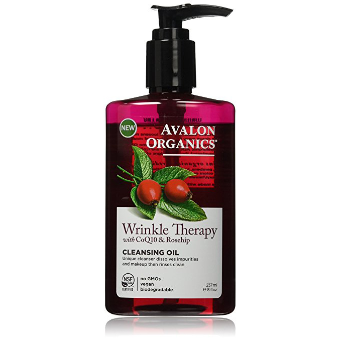 EarthHero - Avalon Organics Wrinkle Therapy Cleaning Oil 1