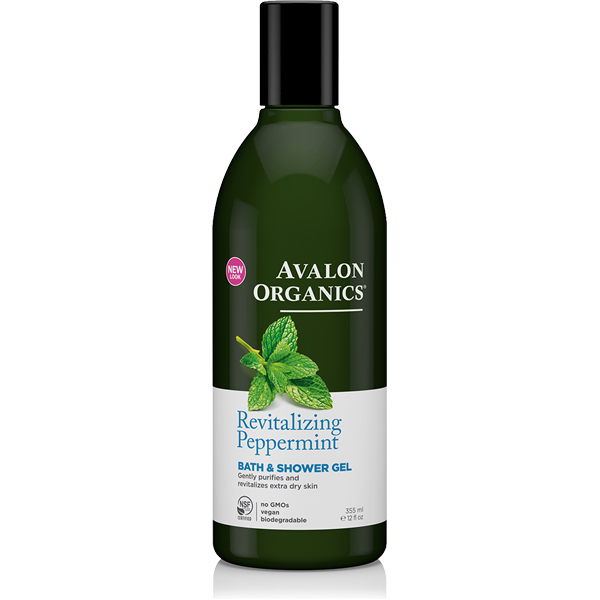 EarthHero - Avalon Organics Peppermint Natural Body Wash 1