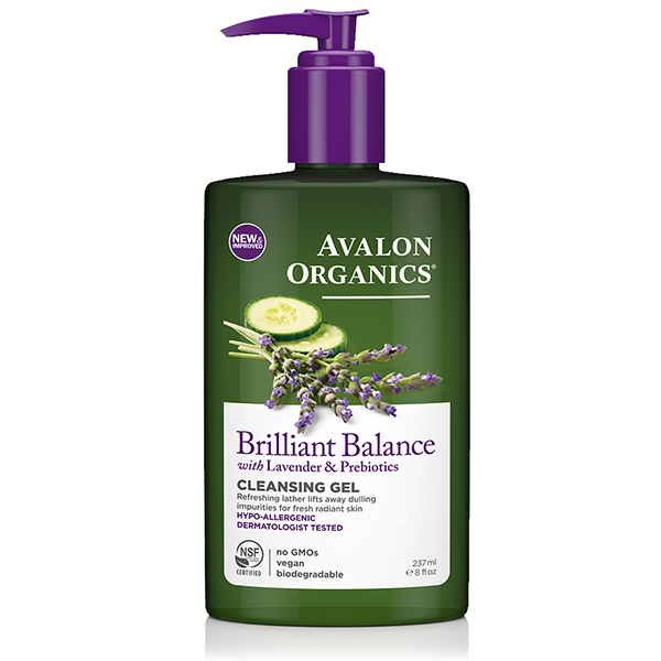 EarthHero - Avalon Organics Cleansing Gel Brilliant Balance 1