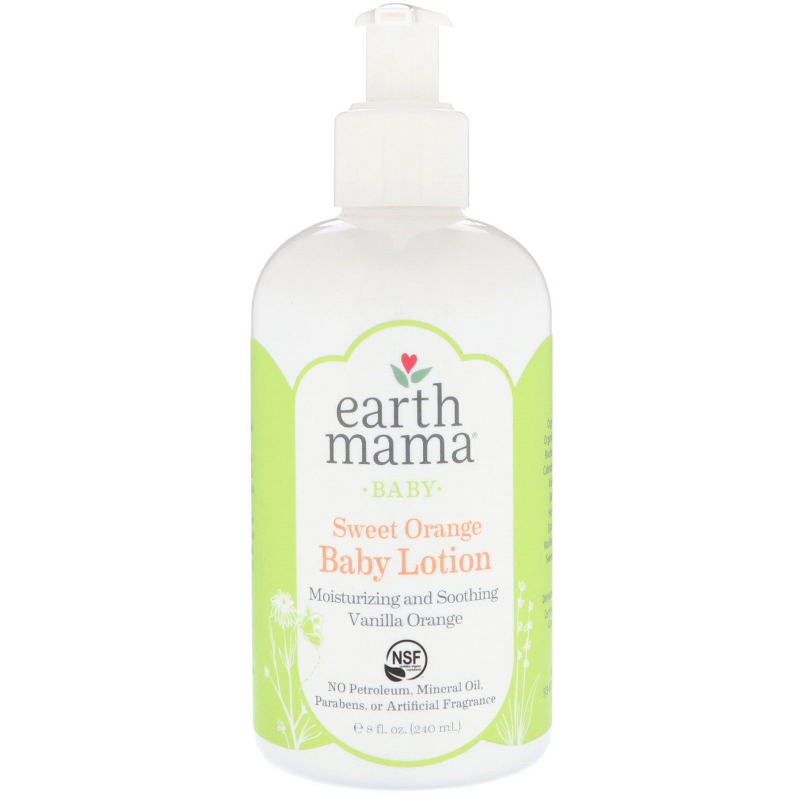 EarthHero - Earth Mama Angel Baby Lotion 8oz
