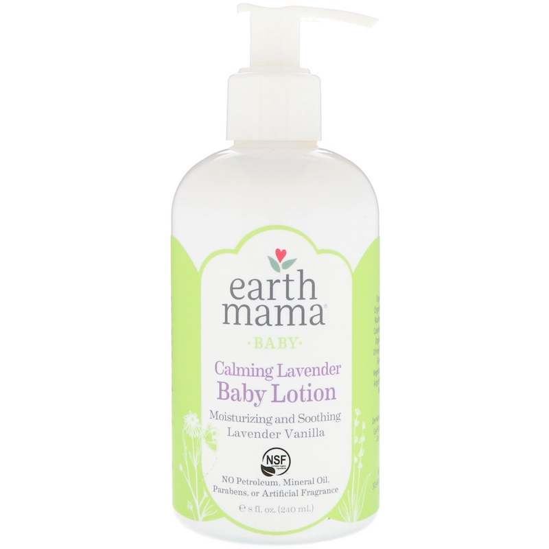 EarthHero - Earth Mama Angel Baby Lotion Calming Lavender 1