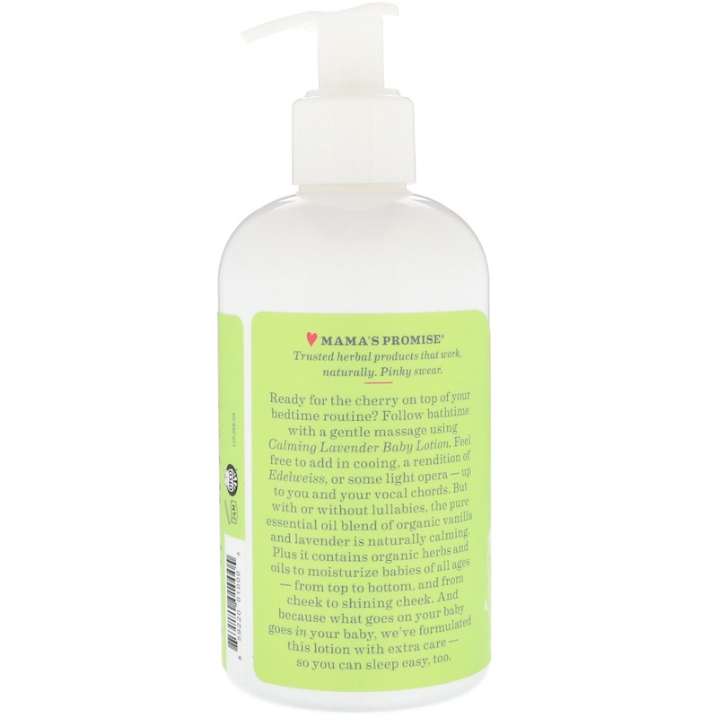 EarthHero - Earth Mama Angel Baby Lotion Calming Lavender 2
