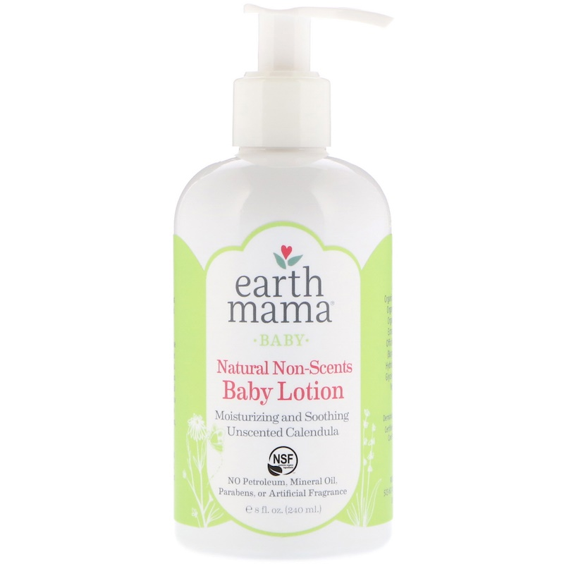 EarthHero - Earth Mama Angel Baby Lotion Natural Non-Scents 3