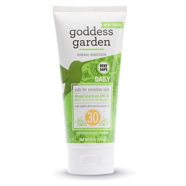 EarthHero - Goddess Garden Sunscreen SPF 30 New