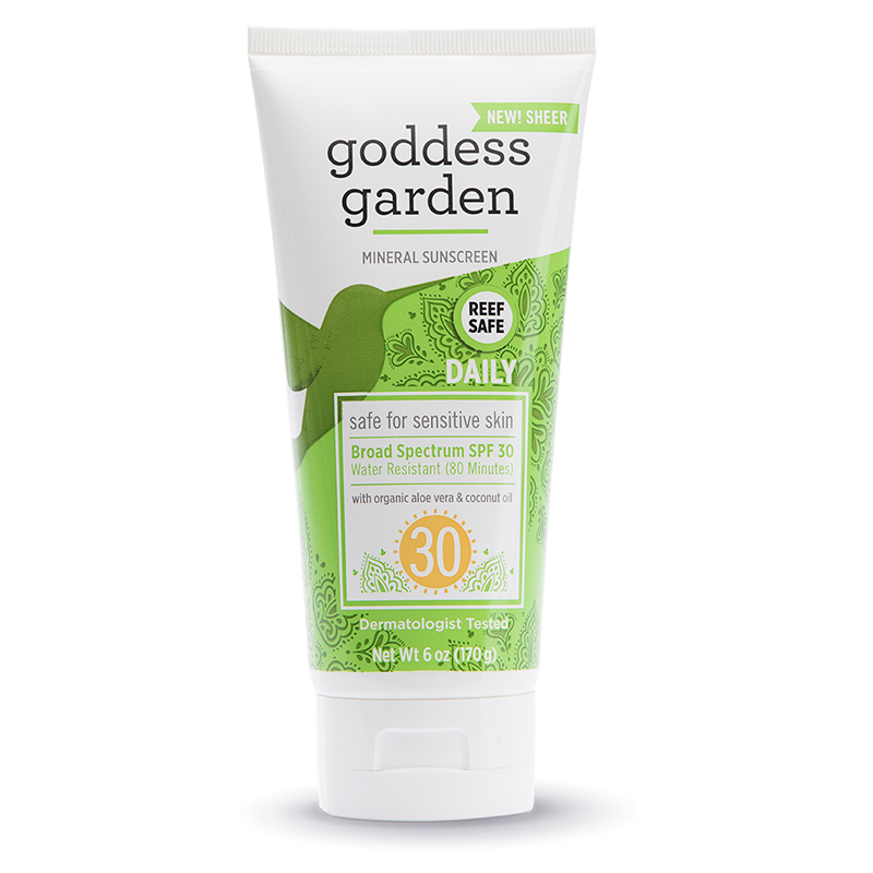 EarthHero - Goddess Garden Sunscreen SPF 30 New