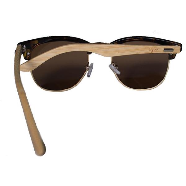 bcbbe7e403b EarthHero - Sunny Sides Bamboo Polarized Sunglasses in Tortoise 3