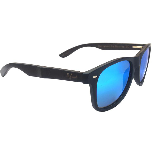 EarthHero - Drift Woods Dark Bamboo Polarized Sunglasses 1