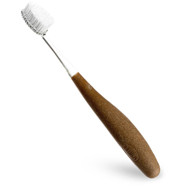 EarthHero - Source RADIUS Toothbrush - Soft - Wood