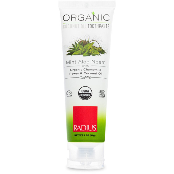 EarthHero - Mint Aloe Neem Organic Coconut Oil Toothpaste