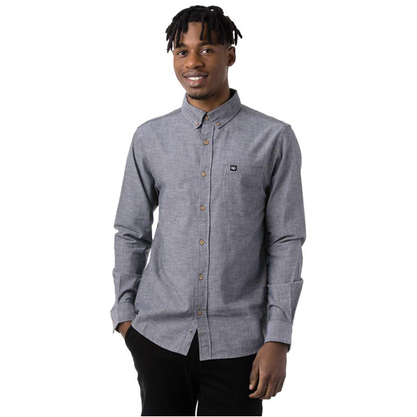 EarthHero - Darian Long Sleeve Button Down 1
