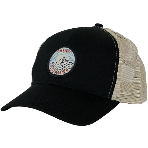 EarthHero - Think Outside Eco Trucker Hat - Black