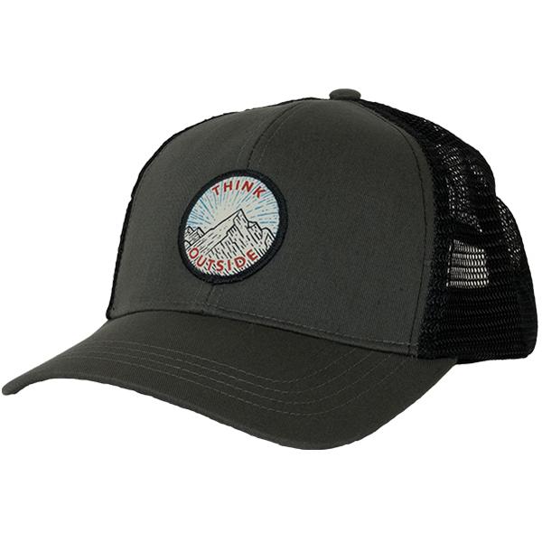 EarthHero - Think Outside Eco Trucker Hat - Charcoal