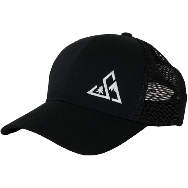 EarthHero - Lefty Eco Trucker Hat - Black