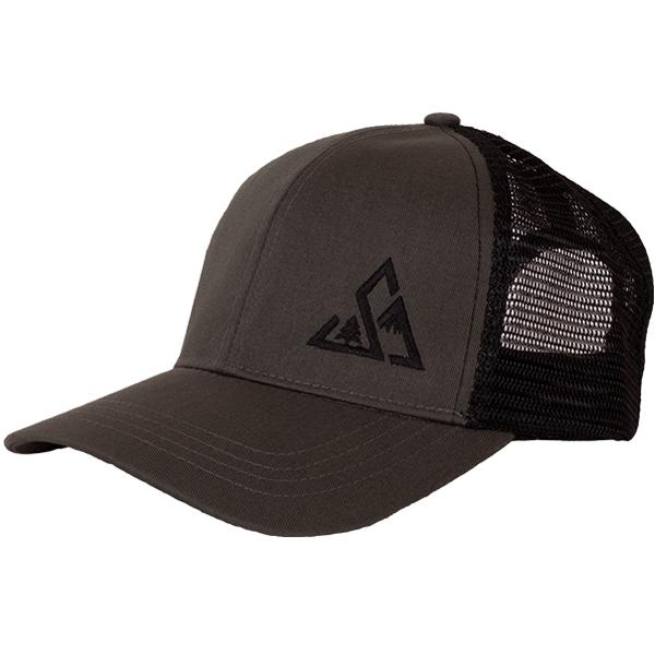 EarthHero - Lefty Eco Trucker Hat - Charcoal