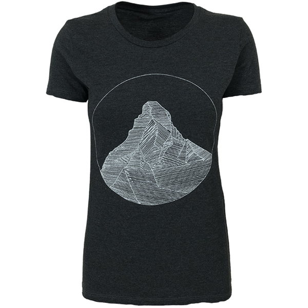 EarthHero - Matterhorn Women's Graphic Tee - Shadow - XXL