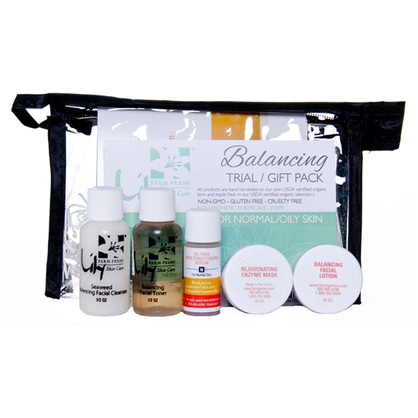 EarthHero - Balancing Skin Care Trial Pack
