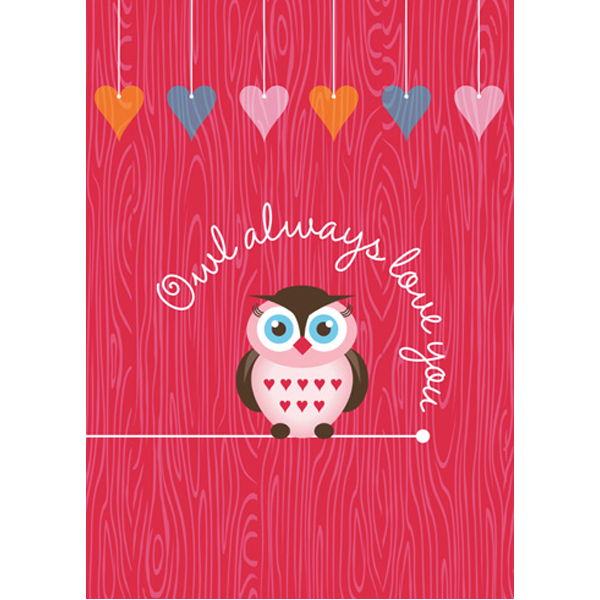 EarthHero - Owl Always Love You Valentine's Day Cards (4pk) 1