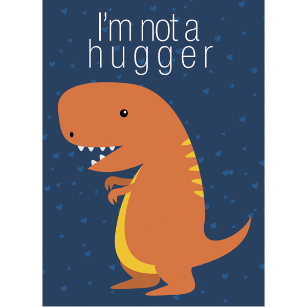 EarthHero - Hugging T-Rex Valentine's Day Cards (4pk) 1