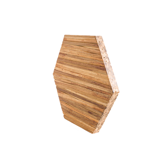 EarthHero - Hexagon Bamboo Shelf Starter Set (5)