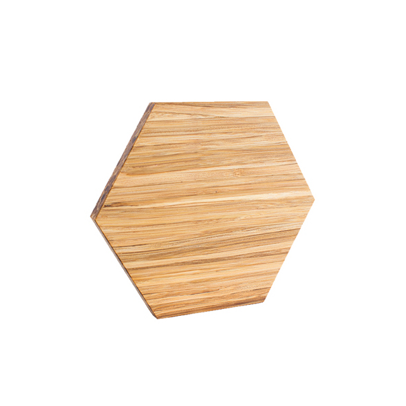 EarthHero - Hexagon Bamboo Shelf Starter Set (6)