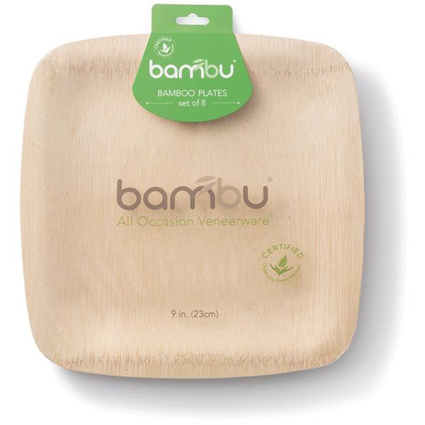 EarthHero - Veneerware Compostable Bamboo Plates - 9\  8pk - 1  sc 1 st  EarthHero & Veneerware Compostable Bamboo Plates - 9\