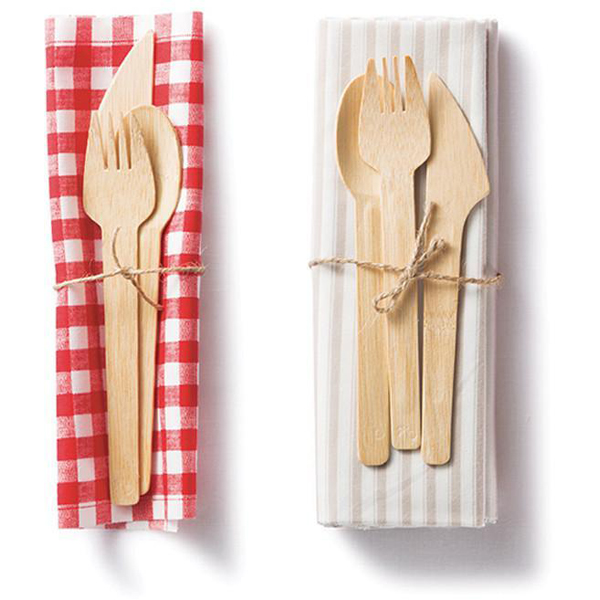 EarthHero - Veneerware Bamboo Compostable Utensils - 8 sets - 5