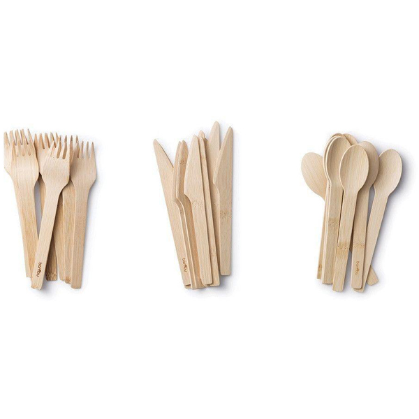 EarthHero - Veneerware Bamboo Compostable Utensils - 8 sets - 2