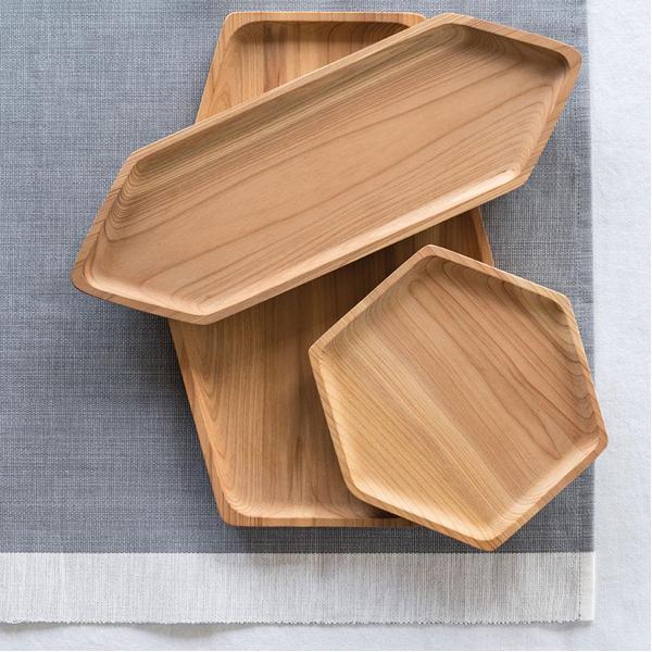 EarthHero - Upcycled Cedar Wood Serving Tray - 6